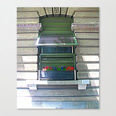 Window Shutter Canvas Print