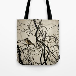 Lonely Bird... Tote Bag