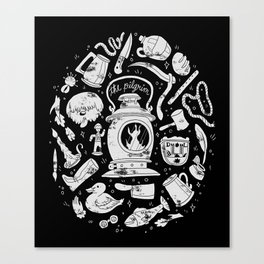 Songs of the Dark Lantern Canvas Print