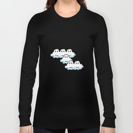 Super Mario Clouds Long Sleeve T-shirt