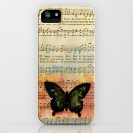 Butterfly Collage 7G by Kathy Morton Stanion iPhone Case