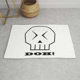 Doh! Skull Rug