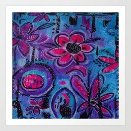 In the Garden #6 Art Print