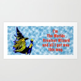 The Greatest Wizard in the World Mug Art Print