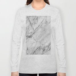 Carrara marble Long Sleeve T-shirt