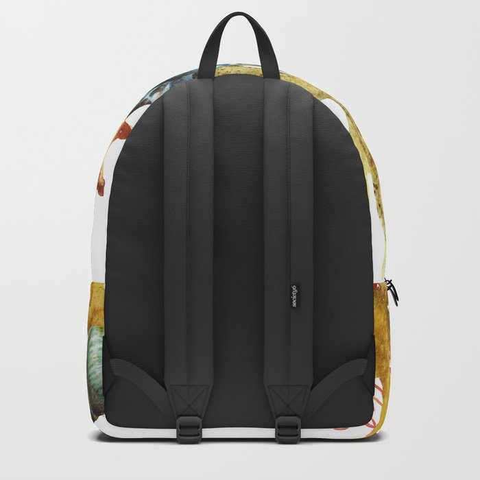 Sea Life Pattern 11 Backpack