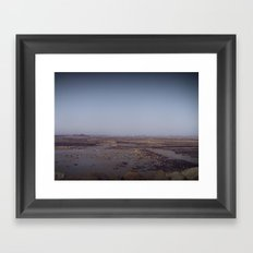 Without water Framed Art Print
