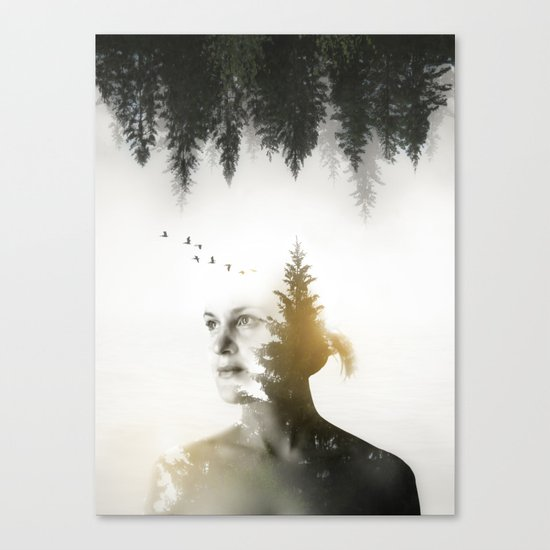 Soul of Nature Canvas Print