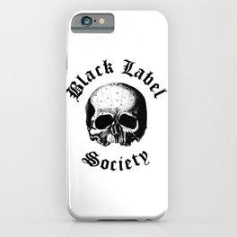 BLACK LABEL SOCIETY P3 TOUR DATES 2019 UDANG iPhone Case