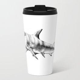 Hammerhead Shark Metal Travel Mug