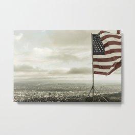 American City Metal Print