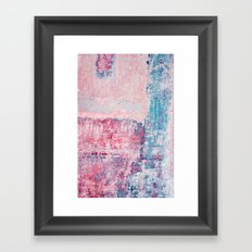 wallpaper series °11 Framed Art Print
