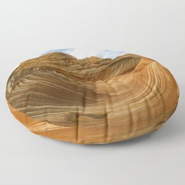 The Wave-Paria Wilderness Floor Pillow