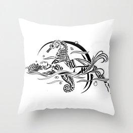 DREAMSCAPE (Tribal Markings series) Throw Pillow