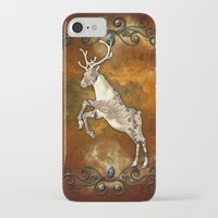 reindeer iPhone & iPod Cases featuring Reindeer by nicky2342