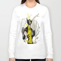 berserk Long Sleeve T-shirts featuring Wolverine - Berserker by RISE Arts