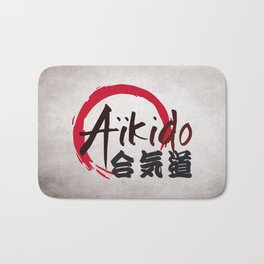 Aïkido v2 Bath Mat
