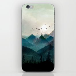 Mountain Sunrise II iPhone Skin