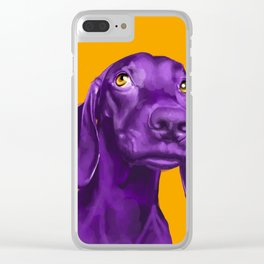 The Dogs: Guy 4 Clear iPhone Case