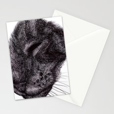 Cat illustration Stationery Cards