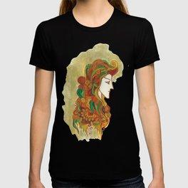 Golden Portrait T-shirt