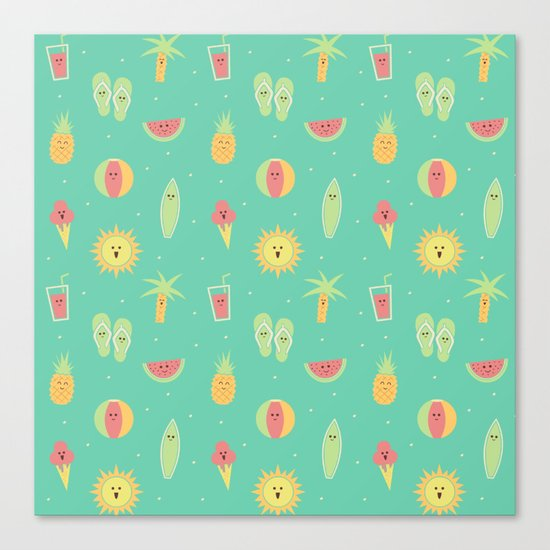 Summer Fun Canvas Print