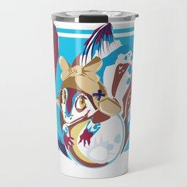 Fish Dragon Vector Travel Mug