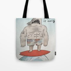 Surf Shark Tote Bag