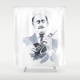 Joe Pass - Jazz Shower Curtain