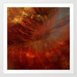 Dehiscence 6 Art Print