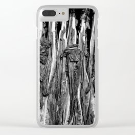 French Symphony of Dying Leaves Clear iPhone Case