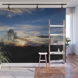 Sunset sky Wall Mural
