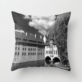 Old Architecture  Nuremberg Throw Pillow
