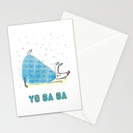 Yoga Dog - Posture Stationery Cards