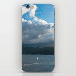Kauai Hanalei Bay and a Boat iPhone Skin