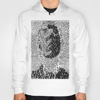 typo Hoodies featuring Warhol Typo by Novel Reveries