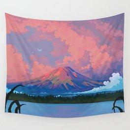 Fuji-san Wall Tapestry