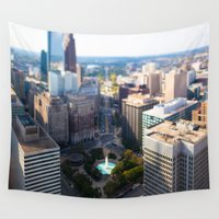philadelphia Wall Tapestries featuring Philadelphia City by GF Fine Art Photography