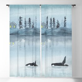 Nature is my home Blackout Curtain