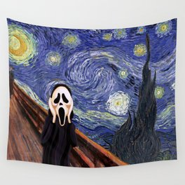 Scream Scary movie Wall Tapestry