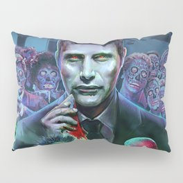Hannibal Holocaust - They Live Return of the Living Dead Mads Mikkelsen Pillow Sham