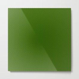 Green Wheels Metal Print