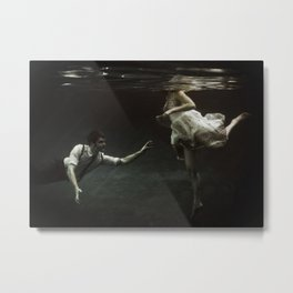 abyss of the disheartened : X Metal Print