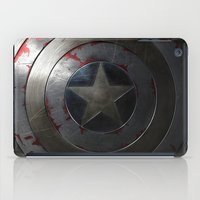 shield iPad Cases featuring SHIELD by Bilqis