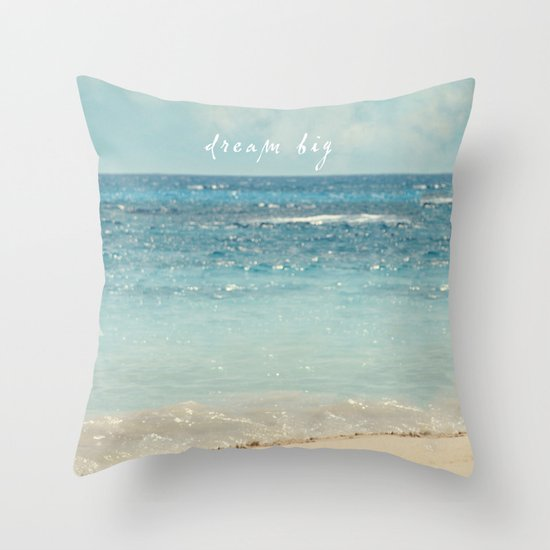 dream big Throw Pillow