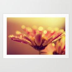 little cup of sunshine Art Print