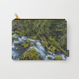 A River's Path Carry-All Pouch