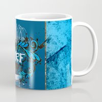 surfing Mugs featuring Surfing by nicky2342