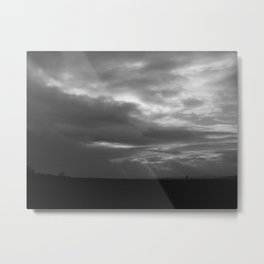 The Heavens are Soon to Open Metal Print