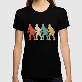 Scrum Half Retro Pop Art Rugby Graphic T-shirt